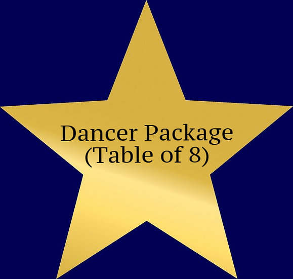 Dancer Package (Table of 8)