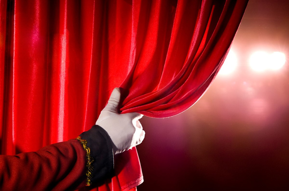 Curtains Opening