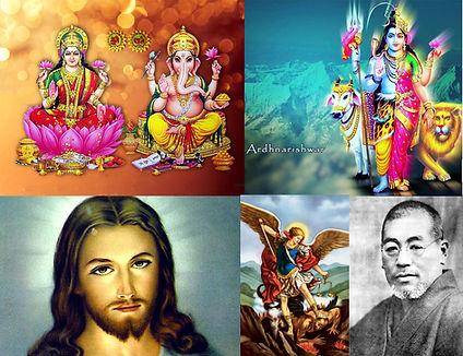 Lord Ganesh, Goddess Lakshmi, Lord Shiva, Goddess Pavati