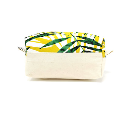 Tropical Palm - Boxed Cosmetic Bag