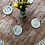 Thumbnail: Block Colour Hemp Coasters