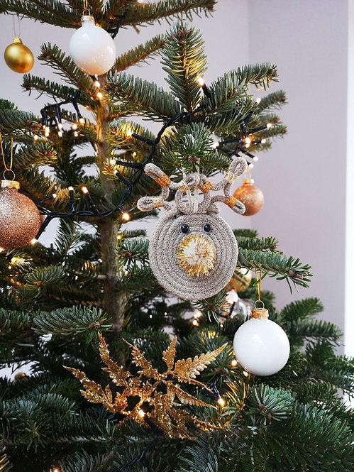Hemp Reindeer Ornaments