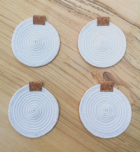 Cotton Rope Coasters