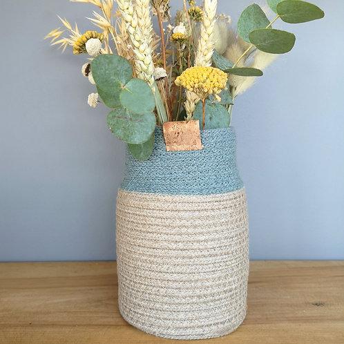 Laurel Hemp Bud Vase
