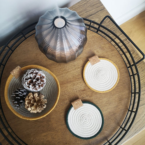 Cotton Rope Coasters (Set of Four)