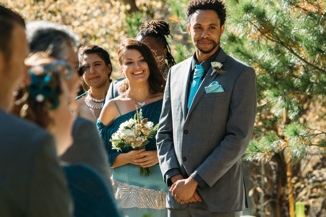 Nichole + Shawn wedding day