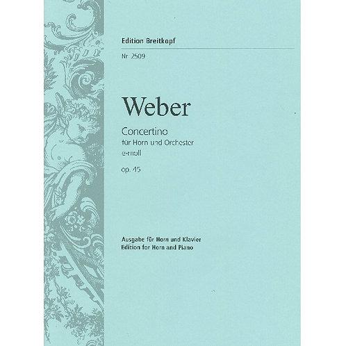 【Horn Solo】C.M.von Weber