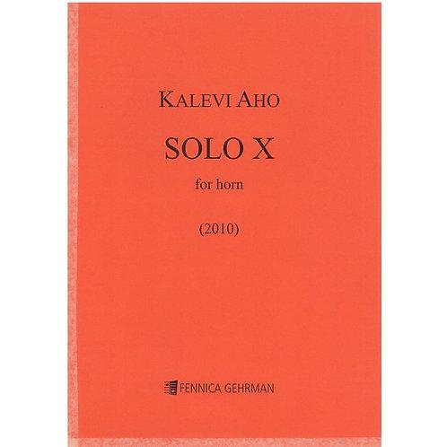 【Horn solo】K.Aho