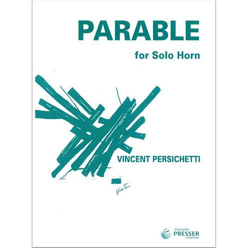 【Horn solo】V. Persichetti