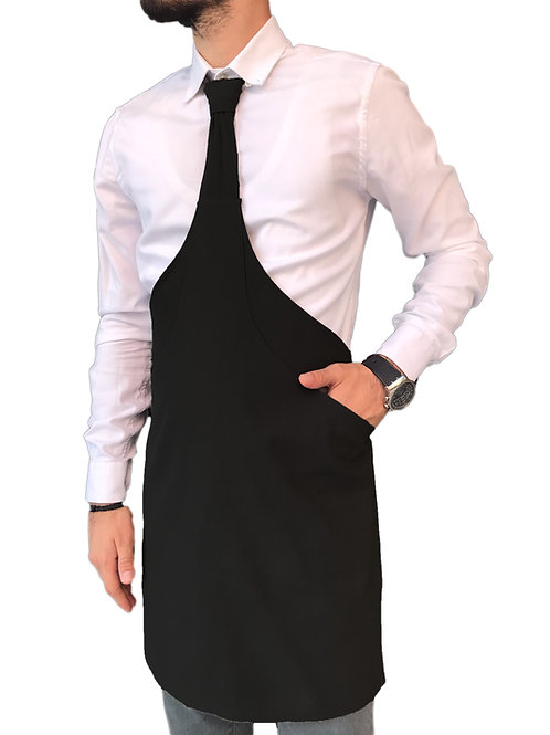 Siyah Kravat Model Restaurant steakhouse mutfak Tasarım önlük
