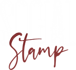 Social Stamp Logo (White, Muted Red).png