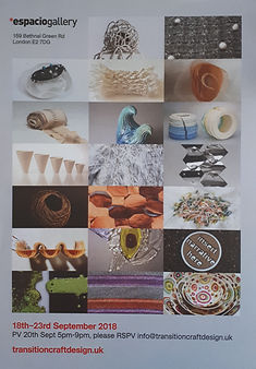Transition craft and design exhibition Henley-on-Thames