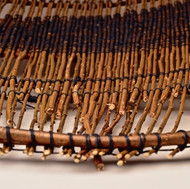 8. Twined willow platter