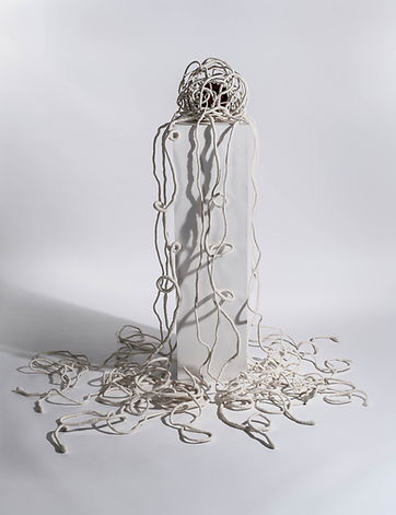 'Empathy': textile art sculpture