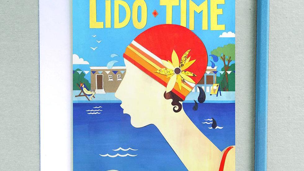 Lido time card