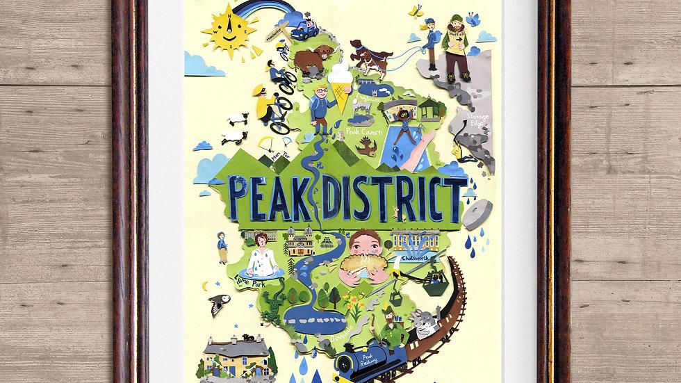 Peak District MapPrint