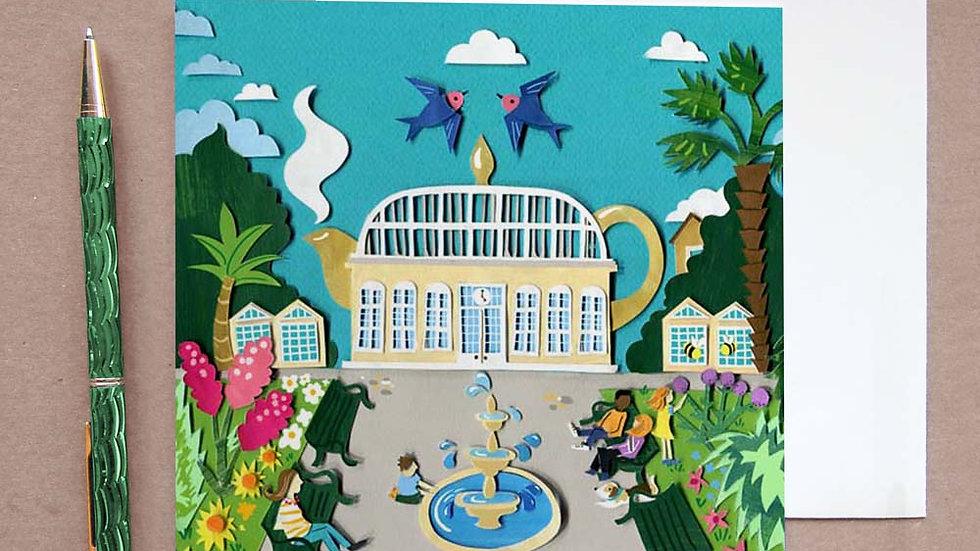 Sheffield Tea pot card
