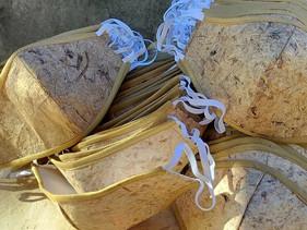 Filipinos criam máscaras feitas de bananeira que se degradam em 2 meses