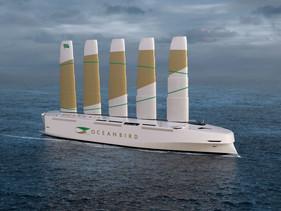 Projeto de navio cargueiro gigante movido a vento promete mudar o transporte marítimo