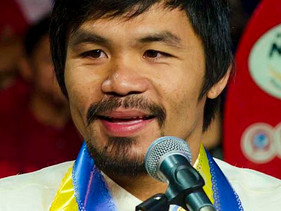 Boxeador Manny Pacquiao constrói 1.000 casas para famílias necessitadas nas Filipinas