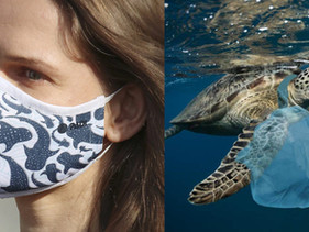 Grupo de mergulhadores da Califórnia está fazendo máscaras de plástico reciclado do oceano