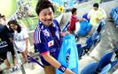 Torcedores japoneses dão exemplo de educação e cidadania em jogos na copa do mundo de 2014