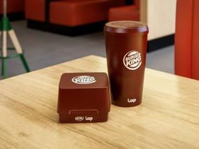 Burger King anuncia projeto para adotar embalagens retornáveis
