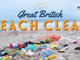 Número recorde de voluntários se inscreveu para limpar as praias do Reino Unido no evento de limpeza