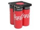 Coca-Cola anuncia que irá substituir seus packs de plástico por de papel em suas latas na Europa