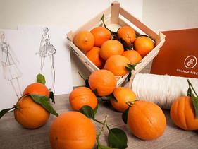 Italianas criam seda vegana feita do bagaço da laranja que produz tecidos leves e sustentáveis