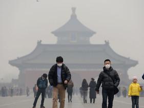 China atingiu no ano passado sua meta para 2020 de redução de emissões de gases de efeito estufa