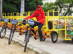 Como parte do projeto Relix, catadores de Alagoas ganham bikes para combater crueldade com cavalos