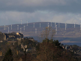 Escócia gerou o dobro da energia necessária para abastecer o país através da energia eólica