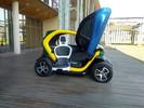 Brasileiros criam carro elétrico adaptado para cadeirantes e ganham prêmio na França