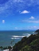 Quarentena diminui poluição e acaba transformando o céu no litoral de SP