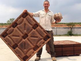 Paletes feitos de casca de coco poupam 200 milhões de árvores por ano