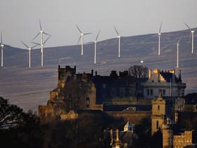 Escócia tem 98% de sua energia produzida por turbinas eólicas