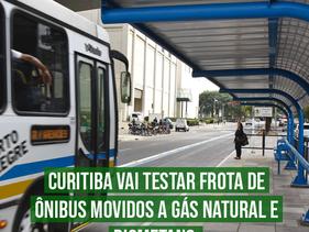Curitiba vai testar frota de ônibus movidos a gás natural e biometano