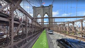 Ciclovias serão implantadas em pontes de Nova Iorque