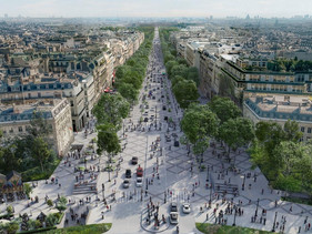 "Prefeita de Paris vai transformar Champs-Élysées em ""jardim extraordinário"""