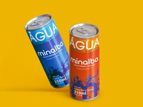 Minalba chega ao mercado na versão latas de alumínio 100% recicláveis.