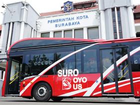 Indonésia agora aceita garrafas plásticas como forma de pagamento para transporte público
