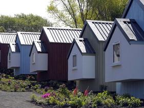Projeto cria Aldeia para pessoas desabrigadas Edimburgo, na Escócia