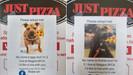 Pizzaria de Nova York está colocando fotos de cães em caixas de pizza para ajudá-los a encontrar cas
