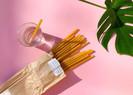 Bares da Itália estão usando macarrões como canudos biodegradáveis para reduzir o uso de plástico