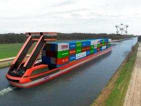 Primeiros navios cargueiros 100% elétricos do mundo começarão a operar na Holanda