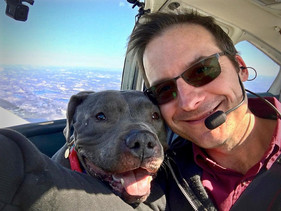 Ex-piloto do exército comprou um avião para resgatar animais que seriam sacrificados