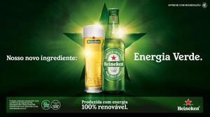 Heineken produzirá cerveja no Brasil a partir de energia 100% renovável