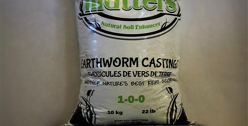 WHLS Earthly Matters Worm Castings