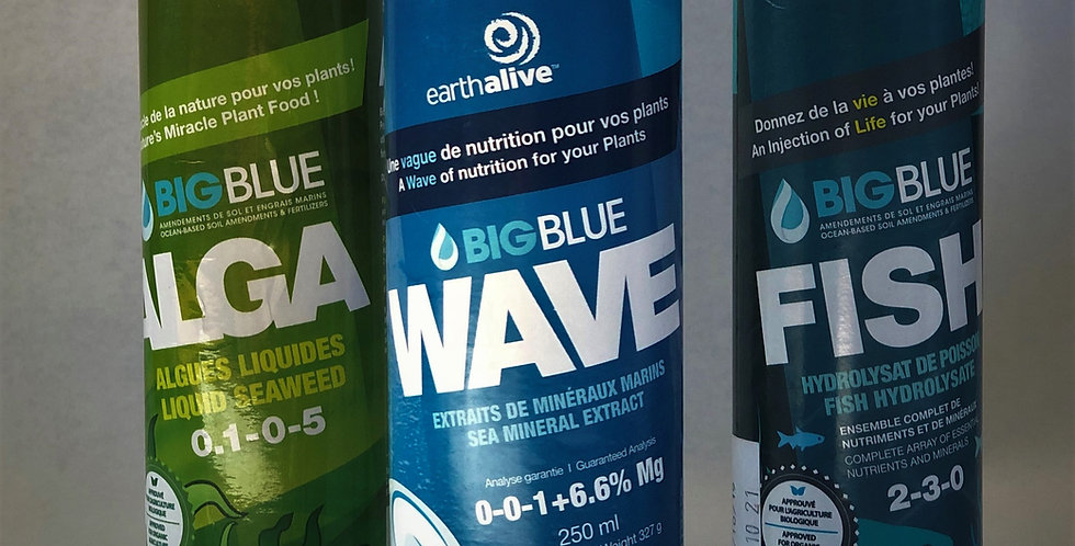 Wave Liquid Sea Minerals